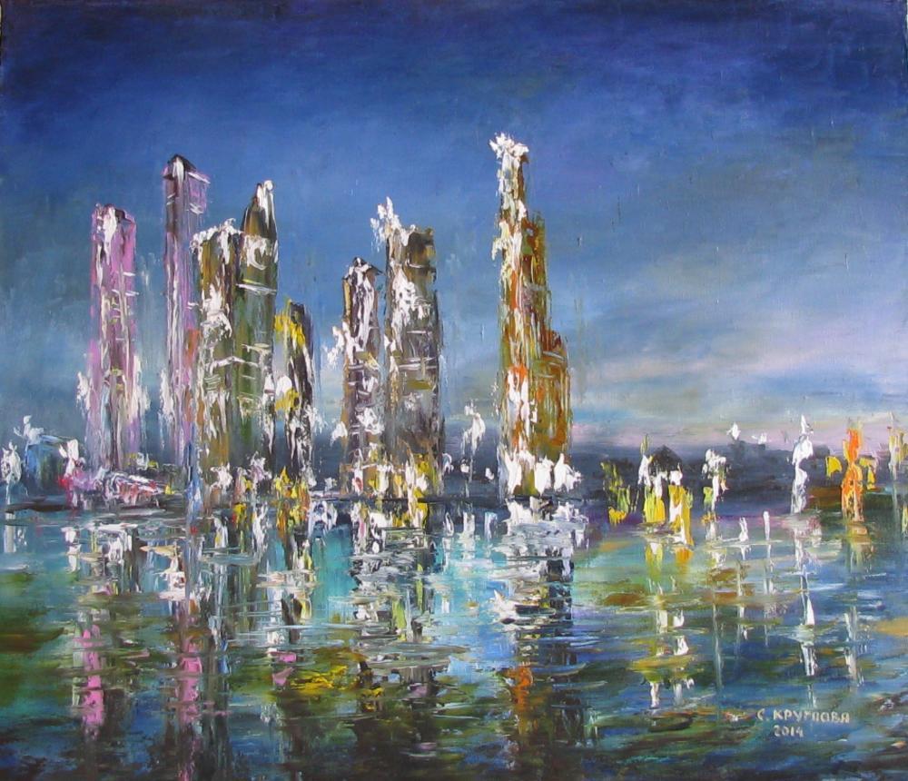Ночная Москва- Сити | Art Bay: www.art-bay.ru/content/ночная-москва-сити